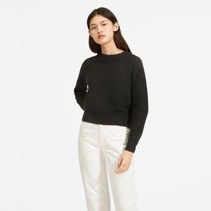 Everlane The Cotton-Linen Crew Sweater